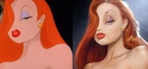 Cartoon Characters Jessica Rabbit : Slide show toons in real life broadsheet ie