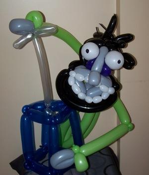 Crazy balloon animals - Susanne
