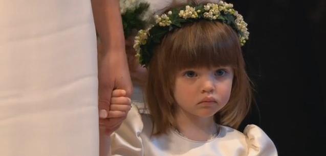 royal wedding bridesmaids. at the Royal Wedding.