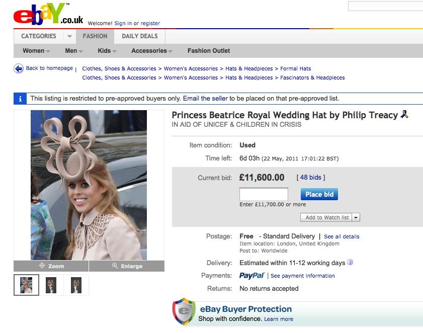 Philip Treacy Hats Ebay Philip Treacy Hat on Ebay