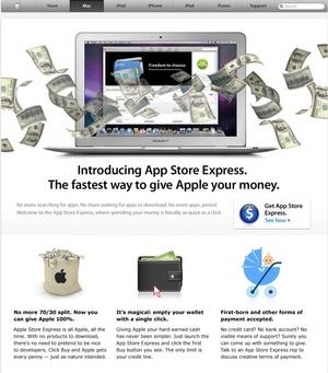 App Store Express Broadsheet Ie