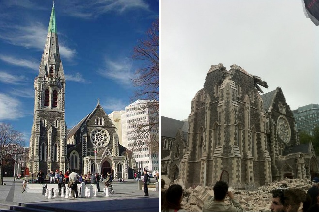 Christchurch New Zealand Twitter: New Zealand's Christchurch Cathedral