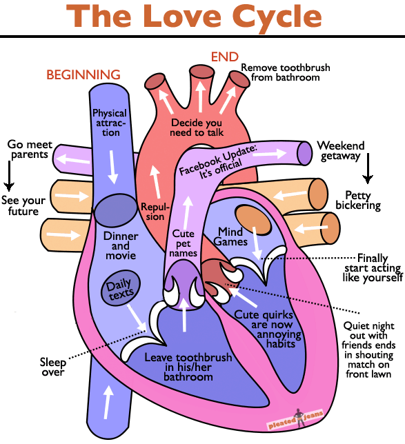 The Love Cycle Broadsheet